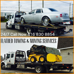 Flatbed towing and moving services Call Now 416 830 8854