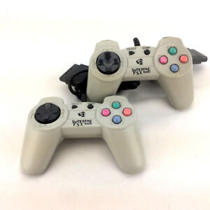 Lot 2 Superpad PSX 1000 PS1 Controllers Sony Playstation 1 P.S.X