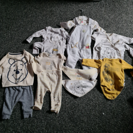 Winnie the Pooh Baby Clothes Bundle