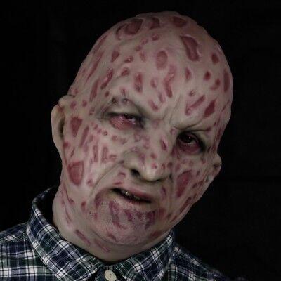 (Burns Victim Latex Overhead Balaclava style Mask)