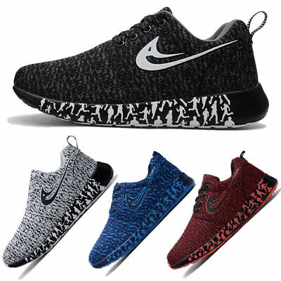 Mens Womens Trainers Sports Shoes Memory Athletic Running Gym Casual Sneakers UK