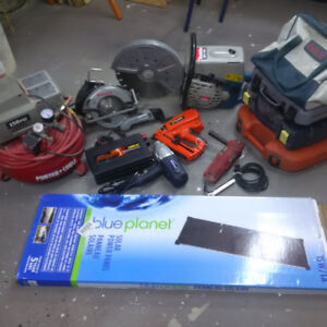 POWER TOOLS, INVERTER & SOLAR PANELS