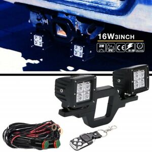 TRAILER HITCH BACK UP LIGHT KITS WITH REMOTE
