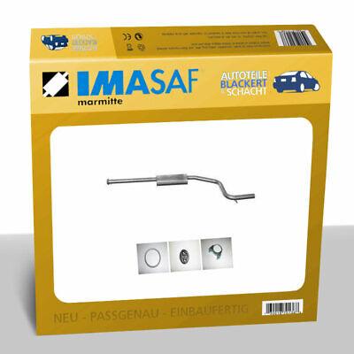 IMASAF Auspuff MSD Mitteltopf für Ford MONDEO III 2.0 16V Diesel 66/85KW -12/03