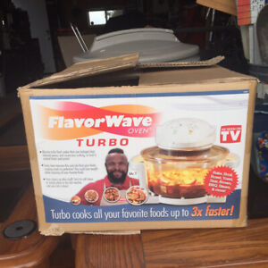 FlavorWave Oven Turbo hot air(dry roasting)cooking system- Mr. T