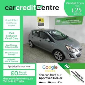 SILVER VAUXHALL CORSA 1.2 EXCITE AC ***FROM £25 PER WEEK***