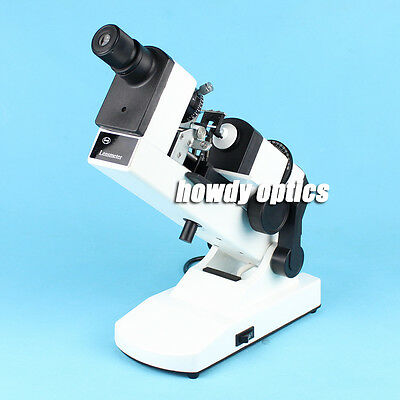 Manual Lensmeter Optical Lensometer Focimeter Internal Reading Prism Compensator