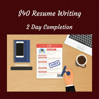 Professional Resume For Only $40!