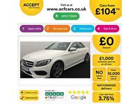Mercedes-Benz C220 AMG FROM £104 PER WEEK!