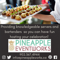 Need servers or bartenders for your event?