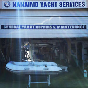 Inflatable Boat Repairs-Before you buy new come visit our Techs
