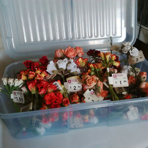 Brand new small craft flowers