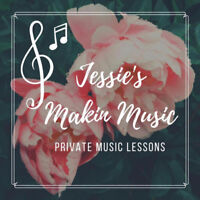 Vocals, Guitar, Piano, Bass, Drums & Ukulele lessons!