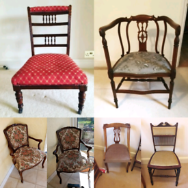 Variety Of Antique Chairs For Sale!!