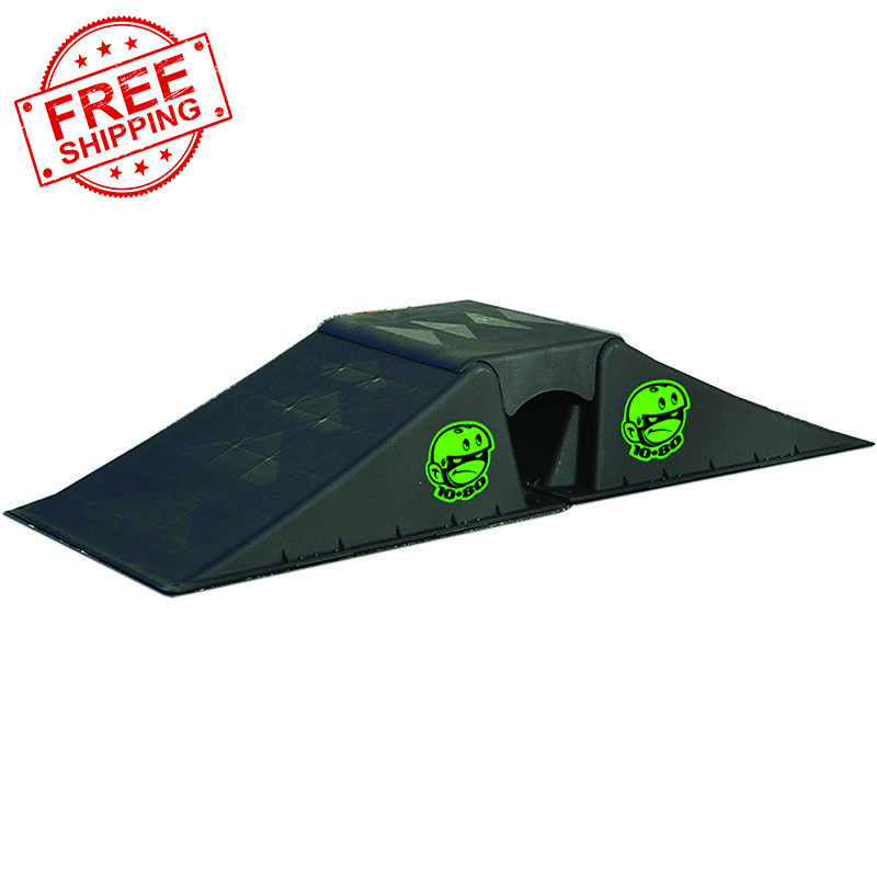 1080 Micro Flybox Wedge-shaped Launch Ramp Set for Riders and Skaters