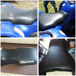 ATV/ Snowmobile seat reupholstering