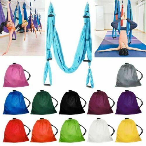 210T Hänge-Matte beharrlich Yoga Swing Schaukel Tuch Fitness Übungen Für Aerial