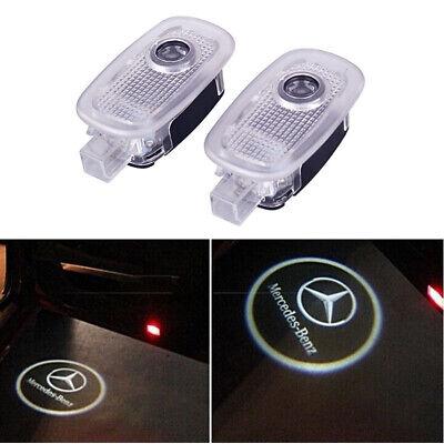2x LED Einstieglicht Mercedes Stern mit Kreis Logo Türlicht S-Klasse W221 C216
