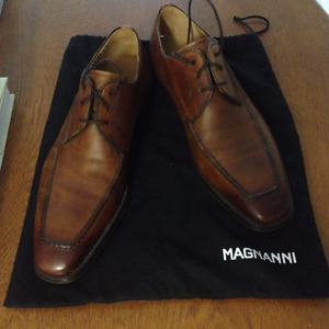 Brown Derby Men's Shoe - Magnanni Pardo - Size 7