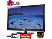 "LG 42"" inch Full HD TV 1080p Flat Screen LED LCD Television, Freeview, 2x HDMI, USB Media Player"