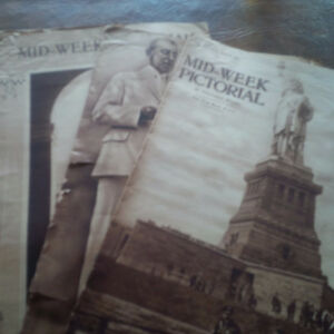 The New York Times Mid-Week Pictorial, 1916, 1917, 1918