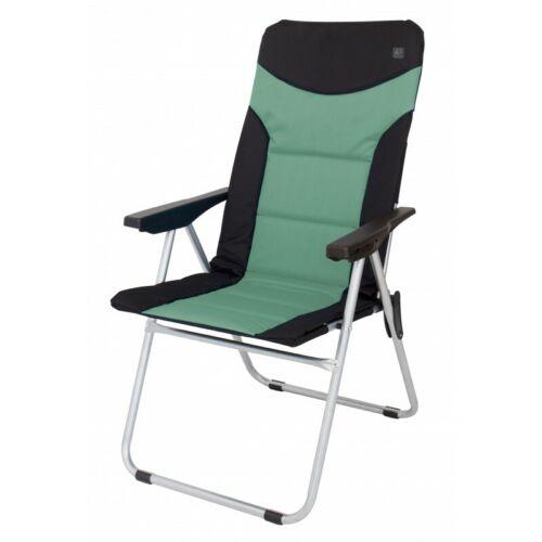 Eurotrail Folding Portable Adjustable Back CampingFishingCaravan Motorhome Chair