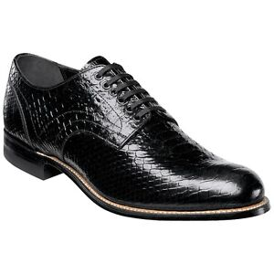 Stacy Adams Men's Madison Anaconda Print Oxford Size 10