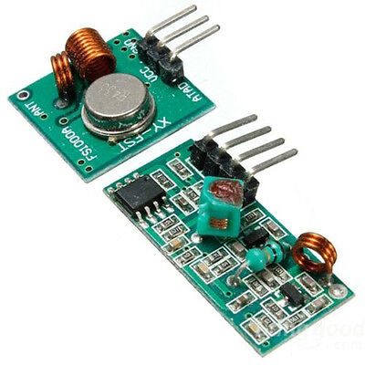 433mhz Rf Transmitter And Receiver Link Kit For Arduinoarmmcu Wl New