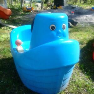 Toddler play boat