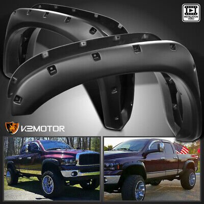 2002-2008 Ram 1500 2003-2009 Ram 2500/3500 Smooth Pocket Rivet Fender Flares