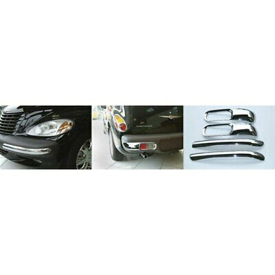 For Chrysler PT Cruiser 01-05 Bumper Trim Set Front & Rear Driver & Passenger