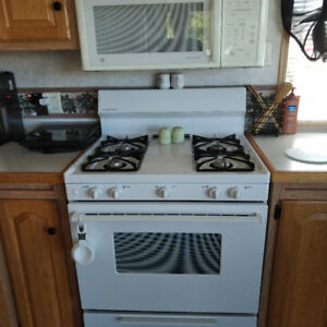 Gas Range/Over the Range Microwave