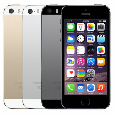Apple iPhone 5s - 16/32/64GB - Choose: Unlocked, AT&T, T-mobile, Verizon