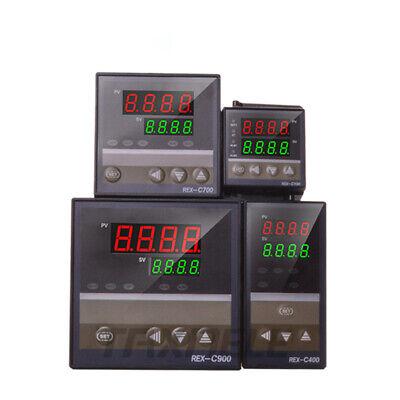 Digital Temperature Controller Rex-c100 C700 C900 Thermostat Ssr Relay Output