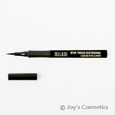 1 Milani Eye Tech Extreme Liquid Eye Liner    Mte 01   Black    Joys Cosmetics
