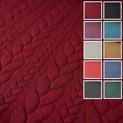 Jacquard Jersey Zopfstrick Modestoffe Strickstoffe viele Farben Winterstoffe