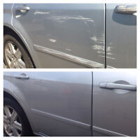 Key - Scratch Removal - Car Polishing - Centre d'Esthétique