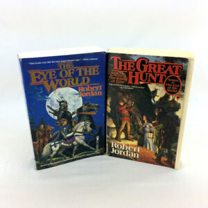 Wheels Of Time Books 1 & 2 Eye Of The World & Great World LG SC