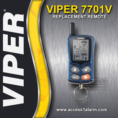 Viper 7701V Responder 2-way SST LCD Remote Control For The Viper 4301V System