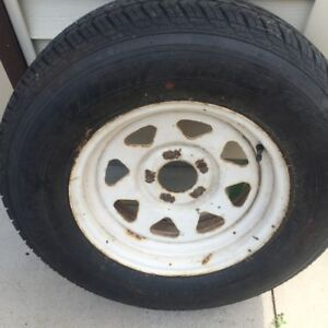 "15"" TRAILER WHEELS WITH TIRES"