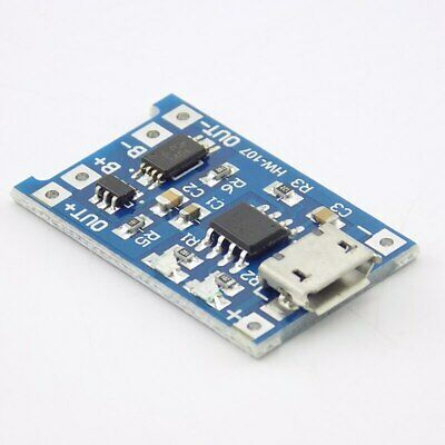 2510pcs Tp4056 5v 1a Usb 18650 Lithium Battery Charger Board Protection Module