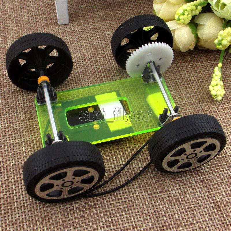 Solar Powered Electric Motor Kit: ELECTRIC SOLAR TOY Car Model DIY Kits Educational Gadget
