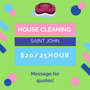Efficient, fast and friendly house cleaning starting in July
