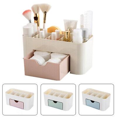 Storage Organizer Box Drawer Make Up Brush Holder Storage Pots Jewellery Case UK