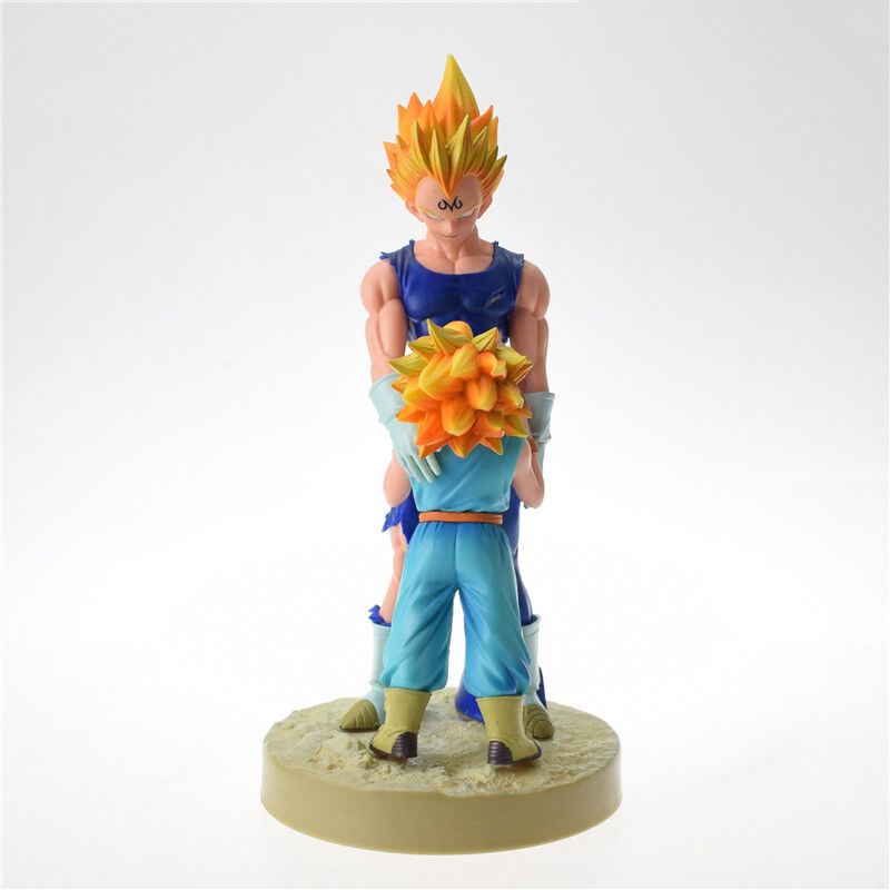 Dragon Ball Z Vegeta /& Trunks Dramatic Showcase 4th season Action Figure 22cm
