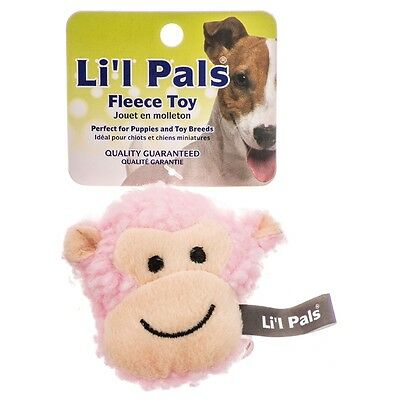 Lil Pals Fleece Monkey Dog Toy FREE SHIPPING