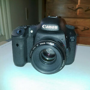 Canon 7D DSLR with Battery Grip and Lens (and more!)