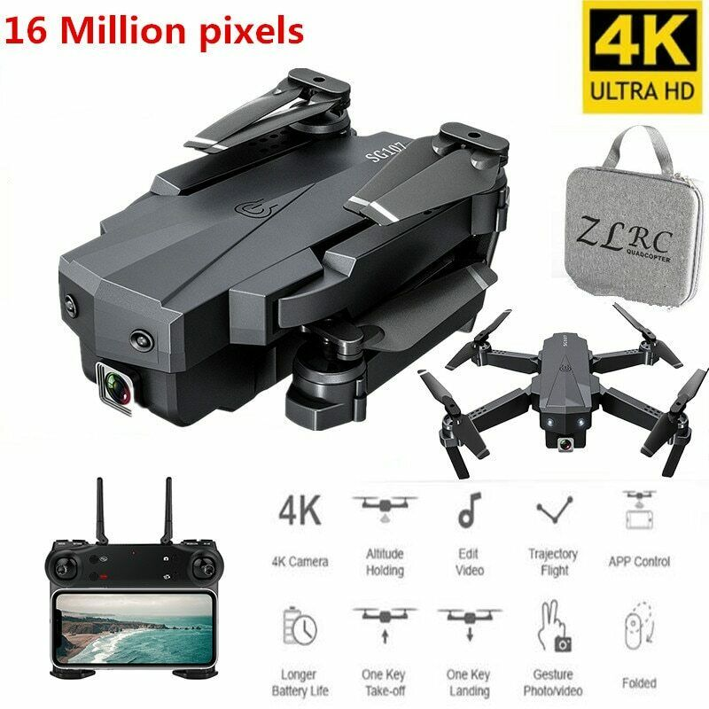 Drone 4K With Camera Optical Flow Positioning Foldable Quadcopter WiFi FPV
