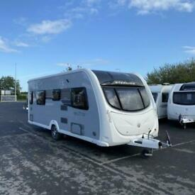 2012 Sterling Elite OPAL Touring Caravan - 4 Berth