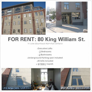 Beautiful 2 Bedroom apartment for rent - 80 King William st.